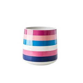 Spatelpot Stripes (16,5 cm.) - Rice