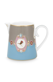 Kan Medallion Blue Khaki (270 ml.) - Pip Studio Love Birds