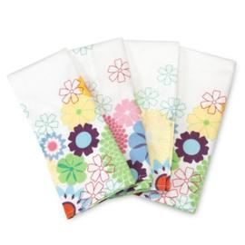 4 Servetten - Pimpernel Crazy Daisy