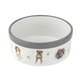 Honden Voerbak (15,3 cm.) - Wrendale Designs