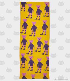 Hand- / Theedoek Pink No Kuma (90 cm.) - Atsuko Matano