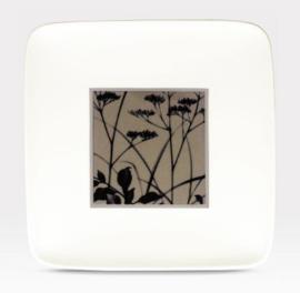 Vierkant Bord (19,3 cm.) - Noritake Twilight Meadow
