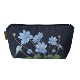 Make-Up Tas Blue Anemone - Koustrup & Co.