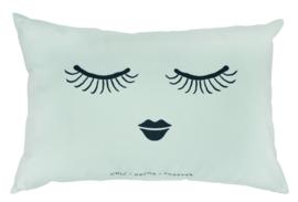 Kussen met Vulling Closed Eyes (60 cm.) - Miss Étoile