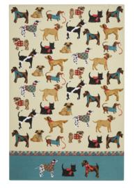 Katoenen Theedoek Hound Dog - Ulster Weavers