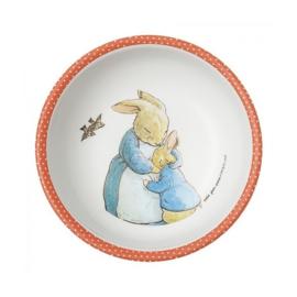 Schaaltje Peter Rabbit Corail (14,3 cm.) - Petit Jour Paris