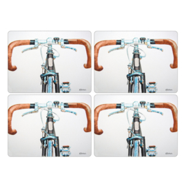 4 Placemats (40,1 cm.) - Pimpernel Bicycle