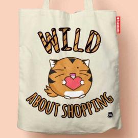 Tas 'Wild About Shopping' - Fuzzballs