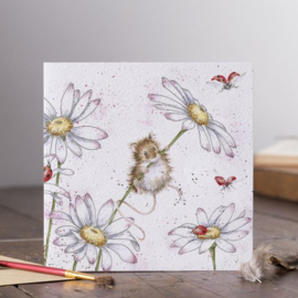 Wenskaart 'Oops a Daisy' - Wrendale Designs