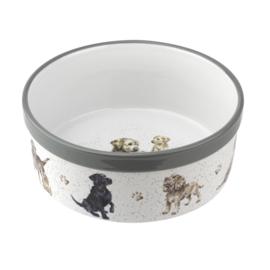 Honden Voerbak (20,5 cm.) - Wrendale Designs
