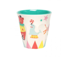 Beker Melamine A Day at the Circus (125 ml.) - Ginger