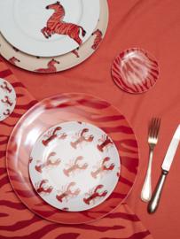 Ontbijtbord Zebra Stripes (21,5 cm.) - Fabienne Chapot