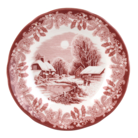 Gebaksbord (15,8 cm.) - Spode Winter's Scene