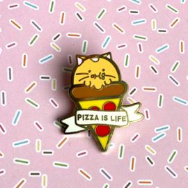 Pin 'Pizza is Life' - Fuzzballs