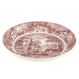 Pastabord (23 cm.) - Spode Cranberry Italian