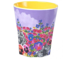 Beker Melamine Wonderland Flower Field (300 ml.) - Ginger