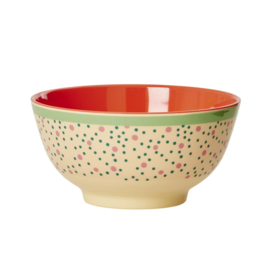 Melamine Schaal Connecting the Dots (15 cm.) - Rice