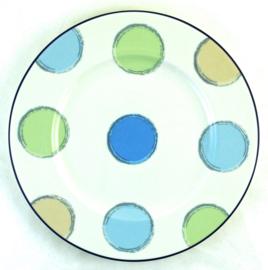 Saladebord (21,5 cm.) - Noritake Ambience Java Blue