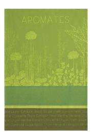 Theedoek Aromates du Jardin (75 cm.) - Coucke