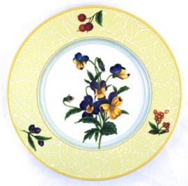 Ontbijtbord (24,5 cm.) - Noritake Ambiance Jolie Fleur