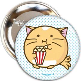 Broche 'Popcorn Cat' - Fuzzballs