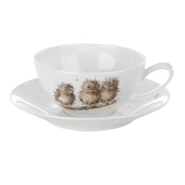 Kop & Schotel Owls (0,30 l.) - Wrendale Designs