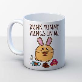 Mok 'Dunk Yummy Things in Me' - Fuzzballs