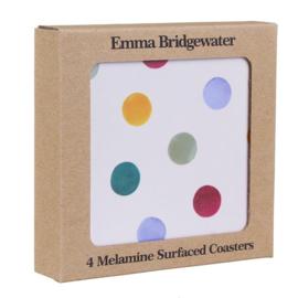4 Onderzetters Polka Dot - Emma Bridgewater