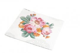Papieren Servetten Rosy Rose - Room Seven