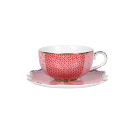 Espressokop & Schotel Royal Pink (125 ml) - Pip Studio
