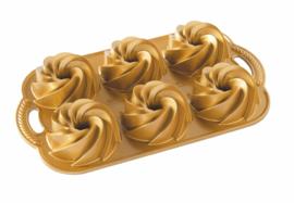 Heritage Mini Bundtlette Gold Bakvorm - Nordic Ware
