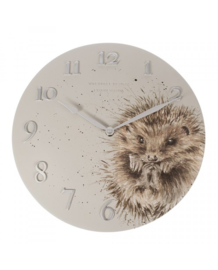 Wandklok Hedgehog - Wrendale Designs