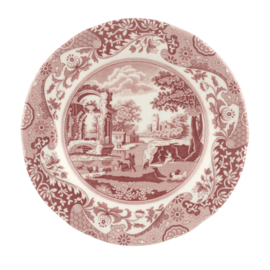 Gebaksbord (19,3 cm.) - Spode Cranberry Italian