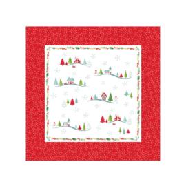 4 Servetten - Pimpernel Christmas Wish