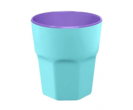Beker Melamine Pastel Blue (300 ml.) - Ginger