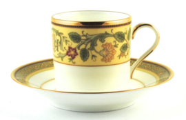 Mokkakop & Schotel - Noritake Golden Pageantry