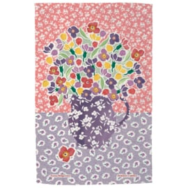 Theedoek Wallflower Persian Carpet - Emma Bridgewater