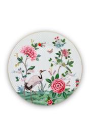 Serveerschotel Blushing Birds White (32 cm.) - Pip Studio