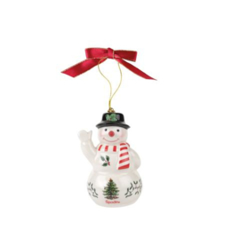 Kersthanger Sneeuwpop - Spode Christmas Tree