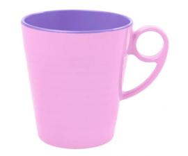 Mok Melamine Pastel Pink (350 ml.) - Ginger