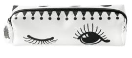 Stoffen Etui Eyes & Dots (21 cm.) - Miss Étoile