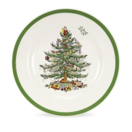 Ontbijtbord (19,7 cm.) - Spode Christmas Tree