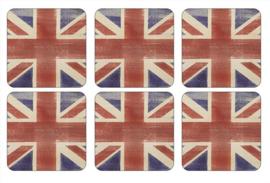 Onderzetters (6) - Pimpernel Union Jack
