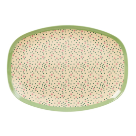 Melamine Bord Connecting the Dots (30 cm.) - Rice