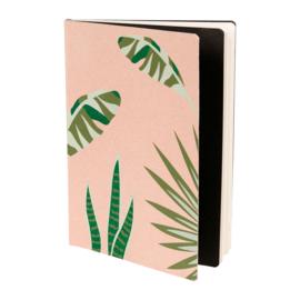Notitieboek Palmeo Pink (21 cm.) - Sema Design