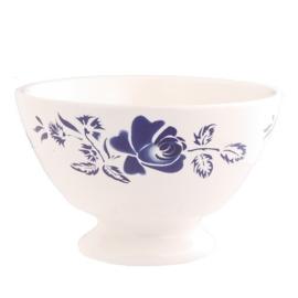 Kom (13 cm.) Rose Blauw - Dépôt d'Argonne