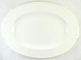 Ovale Serveerschotel (37,2 cm.) - Noritake White View