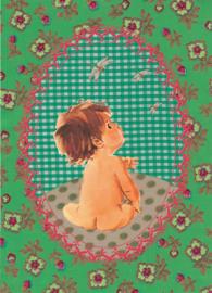 Ansichtkaart Kindje - Froy & Dind