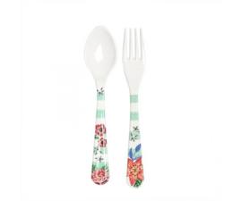 Vork & Lepel Melamine Summer Blossom (19 cm.) - Ginger