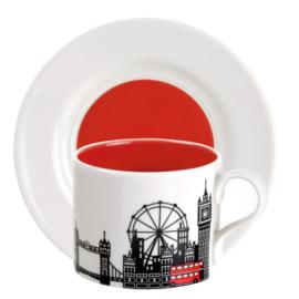 Theekop & Schotel London (0,28 l.) - Portmeirion Cityscapes